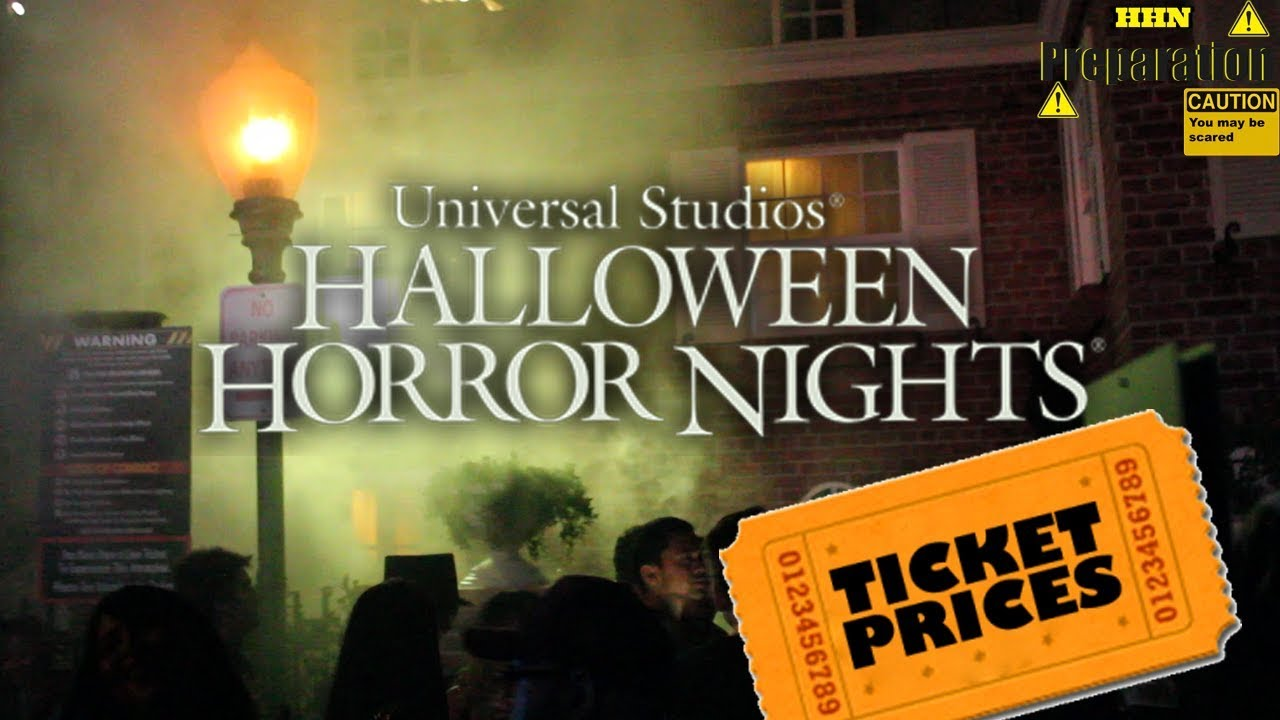 all tickets for halloween horror nights 2017 - How Much Are The Halloween Horror Night Tickets