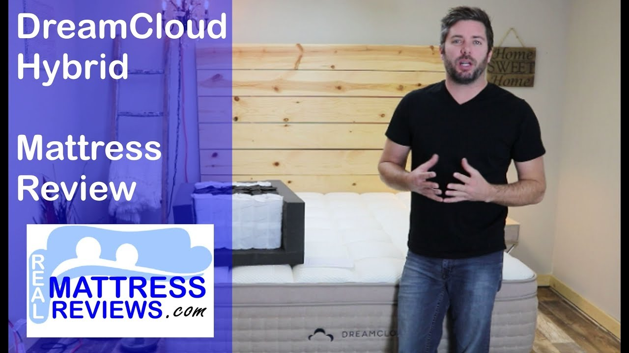 NEW DreamCloud Mattress Review | DreamCloud Hybrid Overview