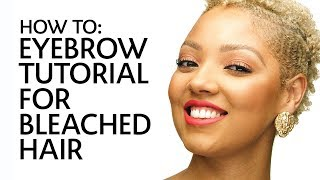 How to: Fill In Eyebrows for Bleached Hair | Sephora