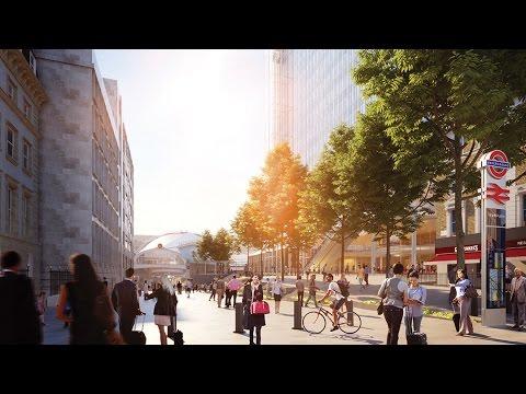 Flythrough: Paddington Quarter, including the 'Paddington Cube'