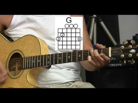 How to Play Big Yellow Taxi -Joni Mitchell - Standard Tuning - L2