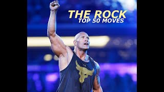 WWE - Top 50 Moves The Rock