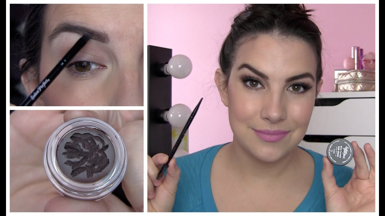 Salon Perfect Perfect Brow Pomade Review Youtube