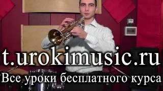 Уроки трубы: строение, клапанный механизм, основы игры