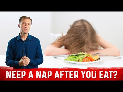 Sleepy After Lunch?  Your SIESTA Means You Have...
