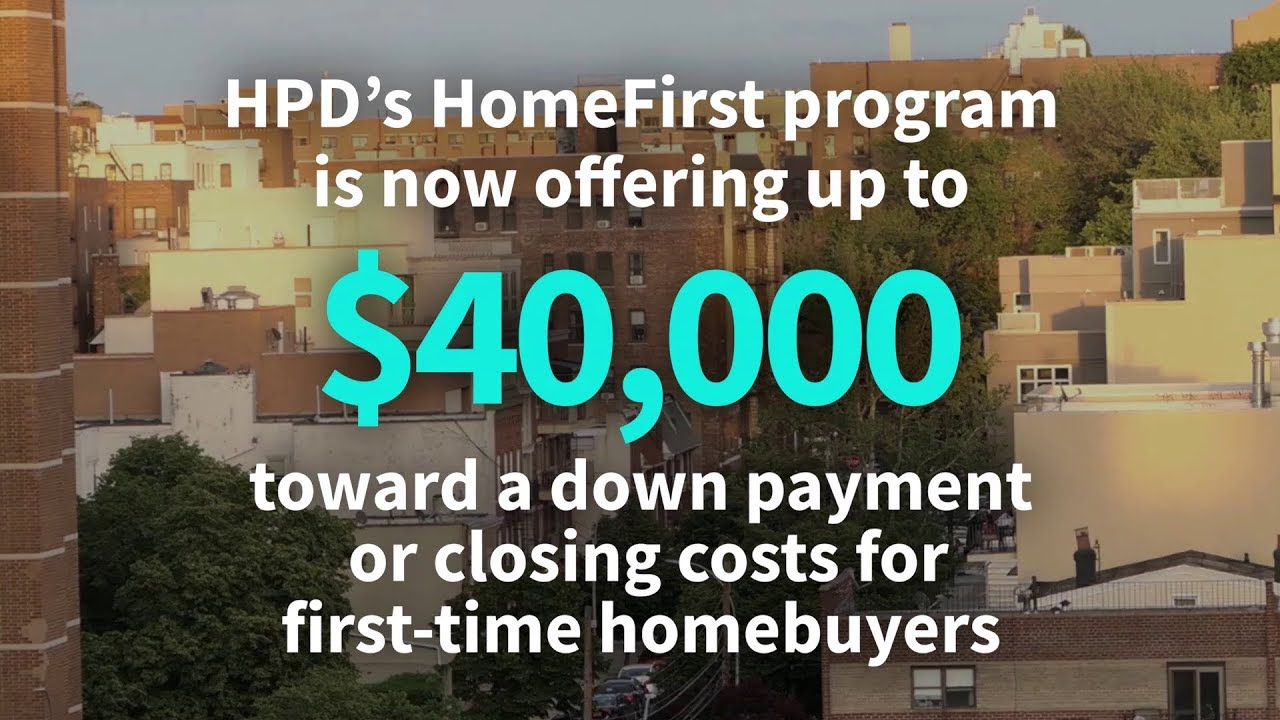 HomeFirst Down Payment Assistance