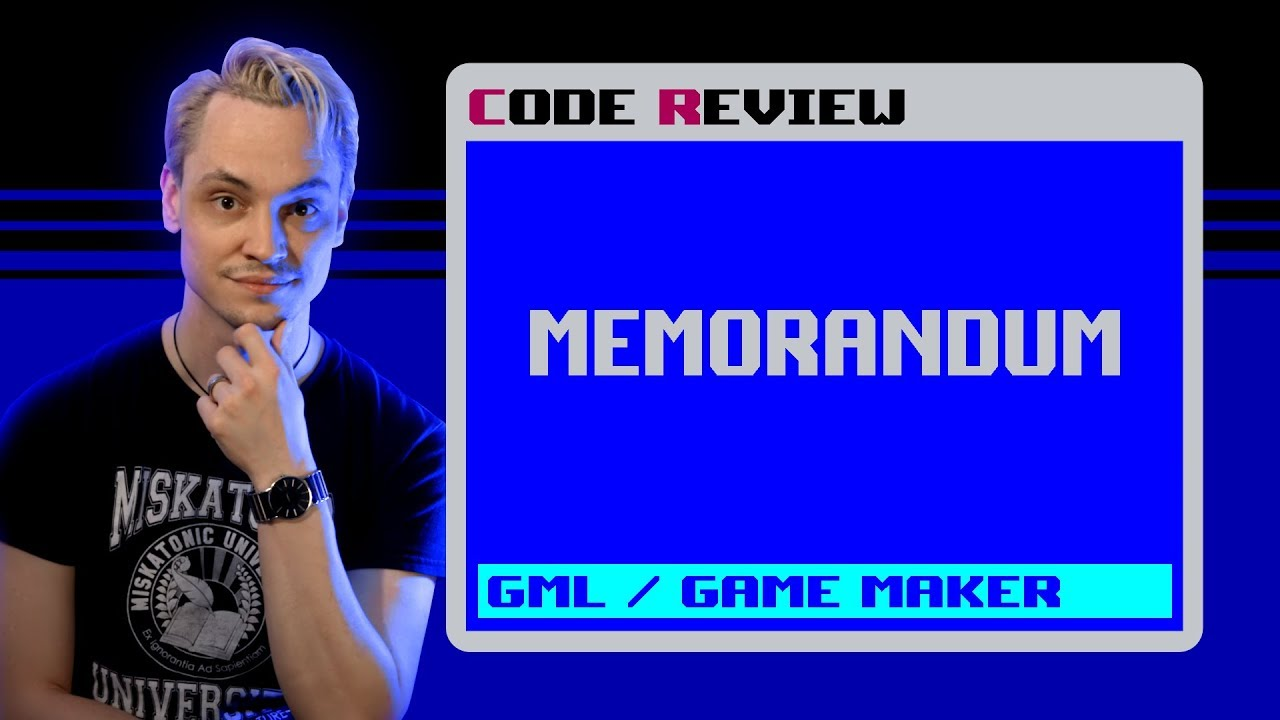 "Code Review of ""Memorandum"" (GML - Game Maker Language)"
