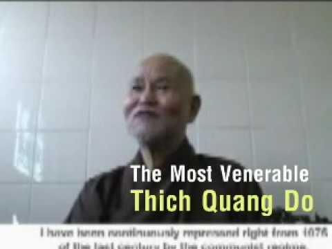 HT.  THICH QUANG DO - Unified Buddhist Church of Vietnam, Giáo Hội Phật Giáo VN Thống Nhất