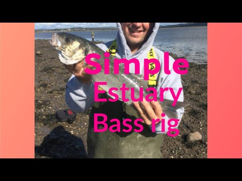 Uk Sea  Fishing  Rigs , Simple Estuary Bass Rig