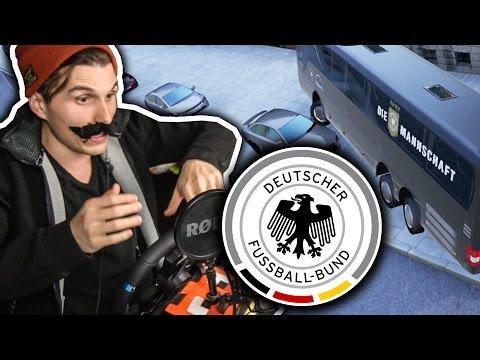 BUSFAHRER DER DEUTSCHEN NATIONALMANNSCHAFT ✪ FERNBUS SIMULATOR mit Lenkrad
