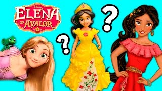 Elena of Avalor Palace Playset Unboxing with Fun Dress-Up Game