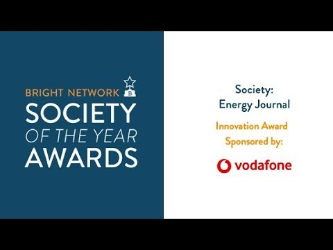 Energy Journal - Bright Network Innovation Award