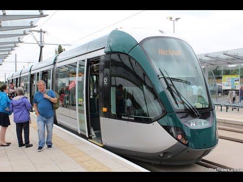 NET 221 STEPHEN LOW // BEESTON - NOTTINGHAM TRAIN STATION //Citadis 302 Trams