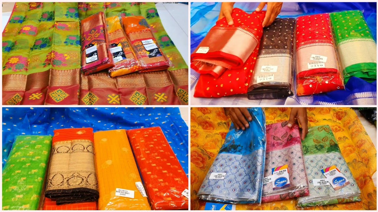 Sravana Masam Special Sarees with Best Price & Address | Exchange, Transport & Discount Available