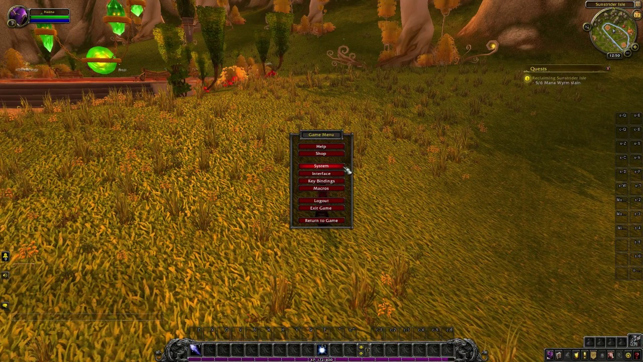 How To Make Your Default Ui Smaller Or Bigger Ui Scaling World Of Warcraft Youtube