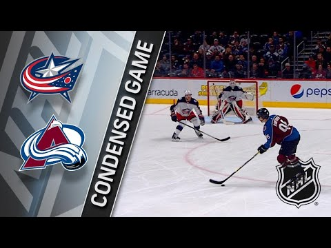 01/04/18 Condensed Game: Blue Jackets @ Avalanche