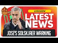 Mourinho Slams United! Solskjaer Promises Success! Man Utd News