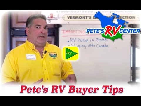 Importing An RV Into Canada | Pete's RV Quick Tips (CC)