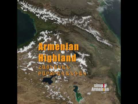 Armenia Is In The Armenian Highland And Not In Caucasus