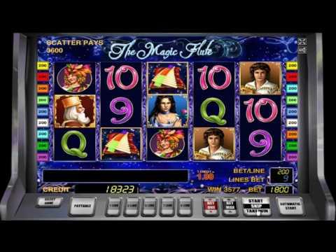 Free Slot Game: «The Magic Flute» - WIN 234 500 $$$ - FREE CASINO GAMES!