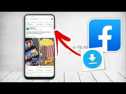 Como descargar VIDEOS de FACEBOOK en el CELULAR | FACIL