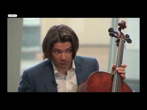 Gautier Capuçon Master Class- Margarita Balanas: Prokofiev Sinfonia Concertante Op.125, II movement
