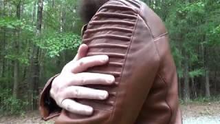 Custom Retro Leather Jacket