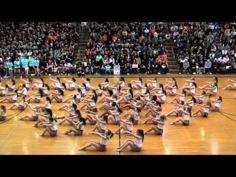 "Pennsbury Sports Nite 2015 Orange Team ""In the Wild"" Dance"