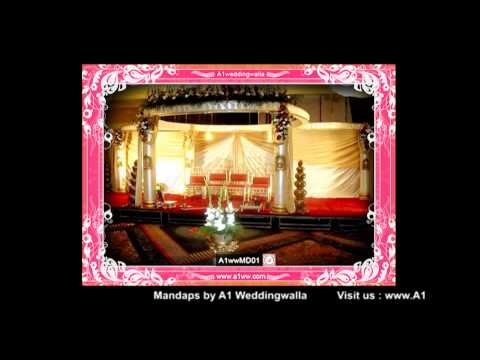 Wedding Mandap Decoration by A1 Weddingwalla A1wwMD01