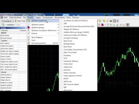 Forex Tester - основной функционал программы