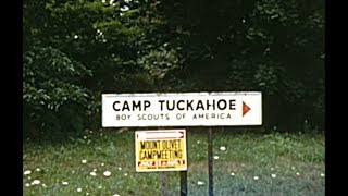 Boy Scouts at Camp Tuckahoe - Dillsburg, Pennsylvania - July 1965