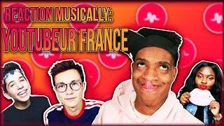 RÉACTION MUSICALLY DES YOUTUBEURS FRANCAIS (ft. Sulivan Gwed, Gloria, Sundy Jules)