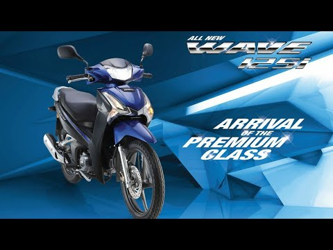 2019 Honda Wave 125i New Honda 125cc Kapcai Motorcycle Youtube