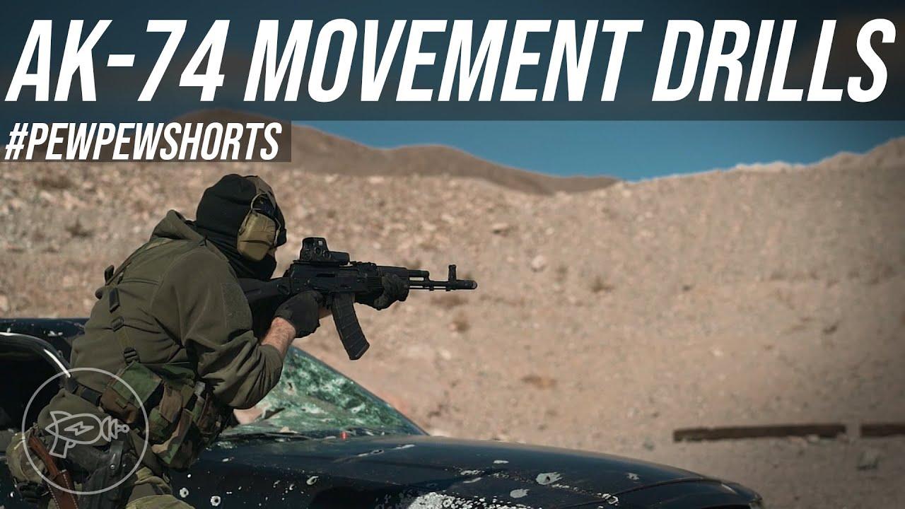 AK-74M Movement Drills! ⏩ [Pew Pew Shorts]