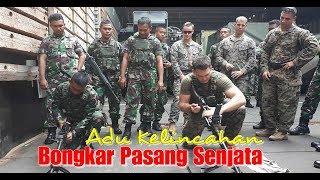 Adu Kemampuan, Marinir TNI Vs Marinir AS