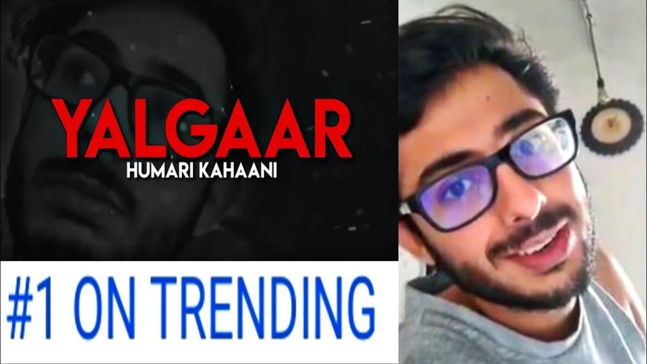 Carry Minati's New Video Yalgaar Finally Trending No. 1 On Youtube, Carryminati New Video Yalga