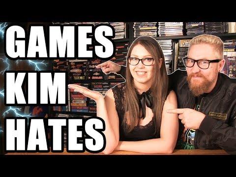GAMES KIM HATES - Happy Console Gamer
