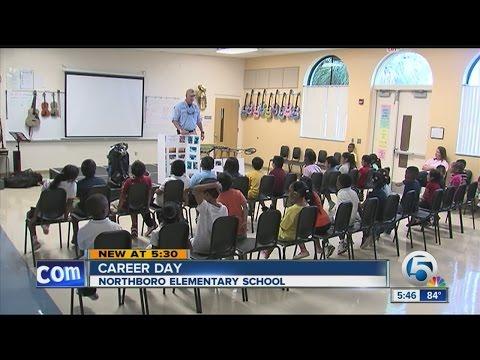 Northboro Elementary School hosts Career Day