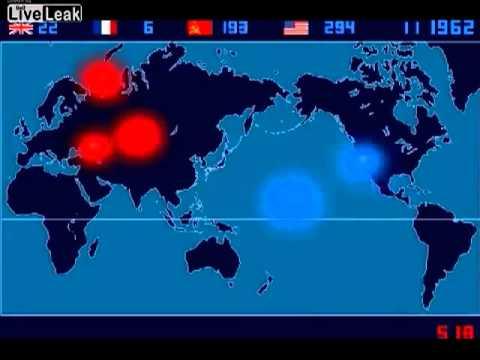 Chronologie Géographique des tests nucléaires
