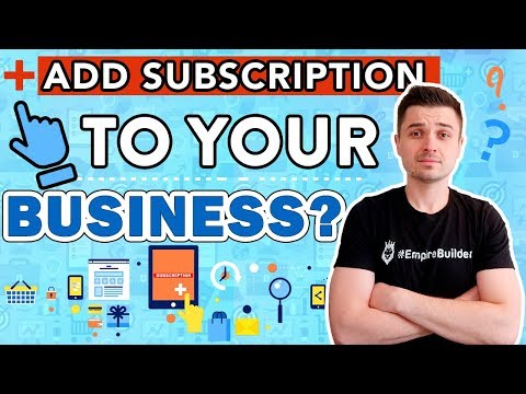 Subscription & Recurring Revenue To Increase Sales & Conversions | Shopify ClickFunnels Dropshipping