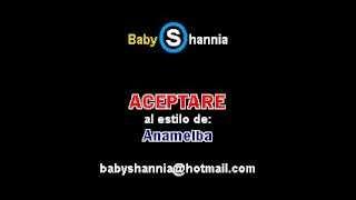 ANAMELBA - ACEPTARE (DEMO karaoke baby shannia)