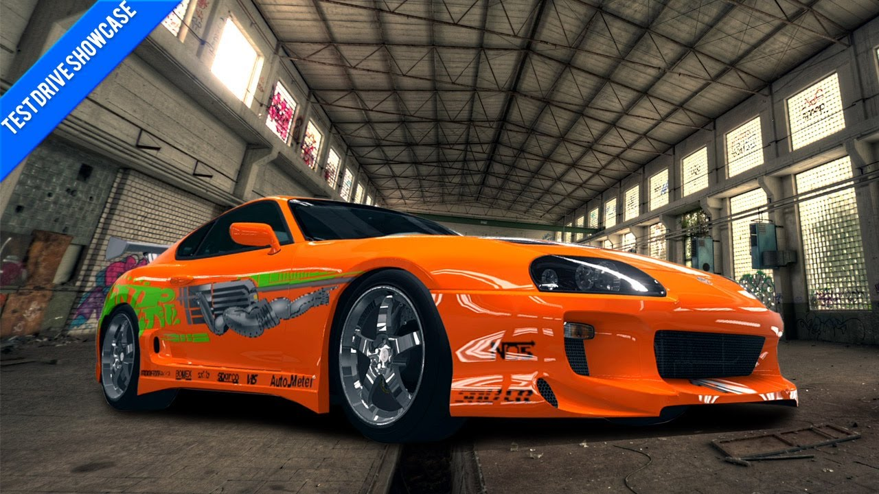Forza horizon test drive showcase fast and the furious supra youtube