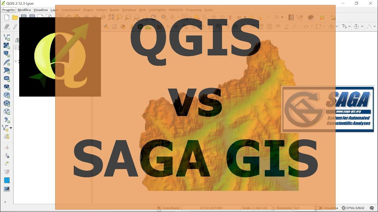 QGIS VS SAGA GIS