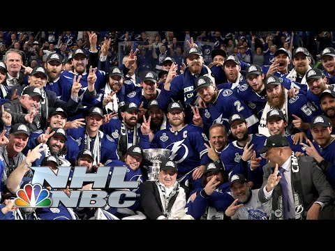 NHL Stanley Cup Final 2021: Lightning hoist the Stanley Cup on home ice | NBC Sports
