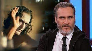 Joaquin Phoenix SHOCKED By Embarrassing Joker Outtakes Video