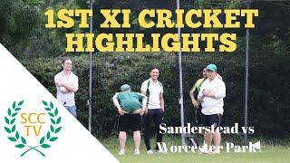 SURREY CHAMPIONSHIP DIV 2 1st XI Cricket Highlights: Sanderstead vs Worcester Park