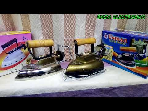 How to use gas iron/  gas iron quality and price details in hindi Urdu