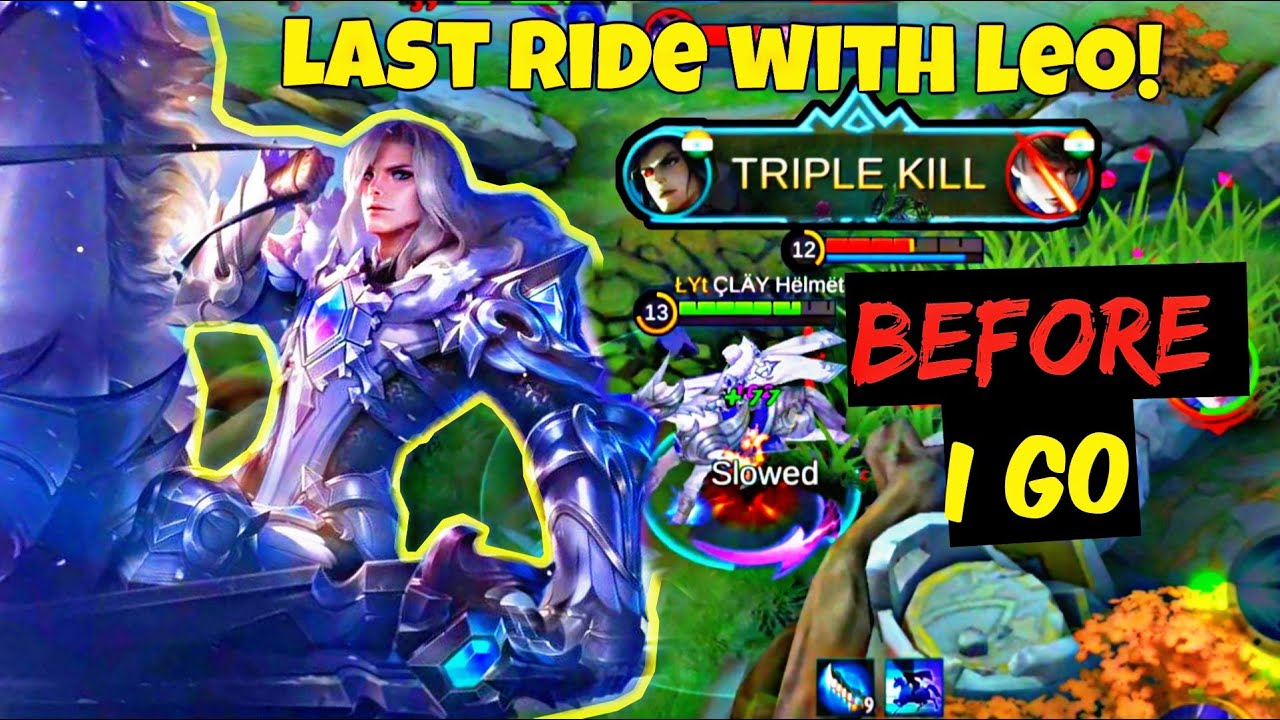LEOMORD GAMEPLAY🔥LUCKY THAT I RECORDED BEFORE MLBB GOT BANNED🥺🇮🇳