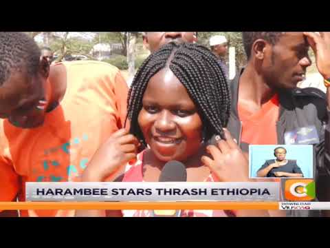 Harambee stars beat Ethiopia 3  0 in group F qualifier