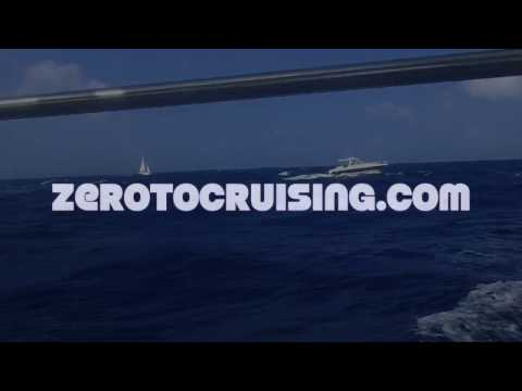 Sailing montage - Martinique to St. Lucia
